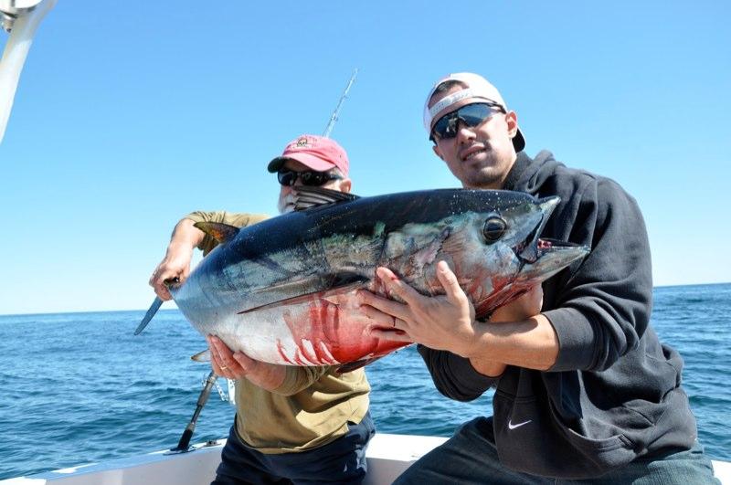 Nate's first Tuna
