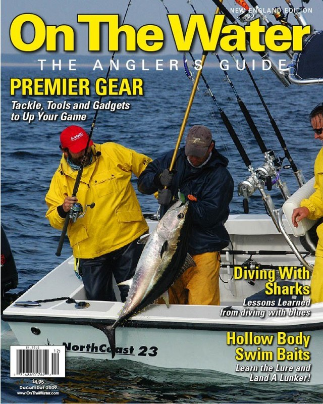 December Cover of On the Water Magazine!