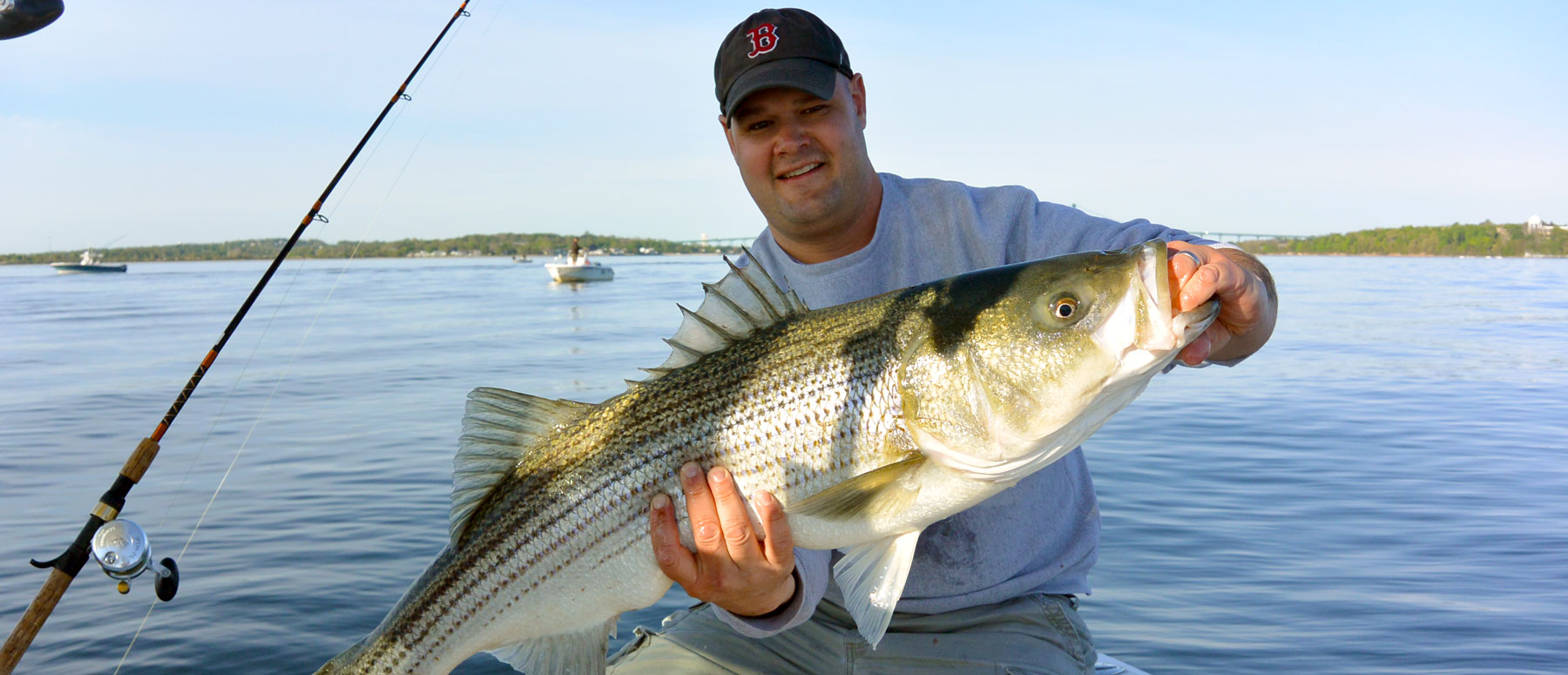 Patterson guide service rhode island light tackle fly for Newport ri fishing charters